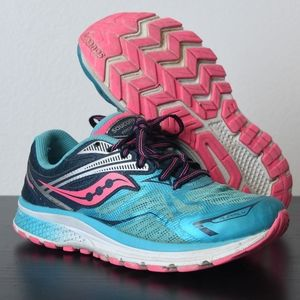 Girl's Saucony Ride 9 Running Shoes